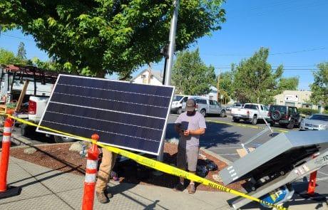 Solar Panel Installation - Panel