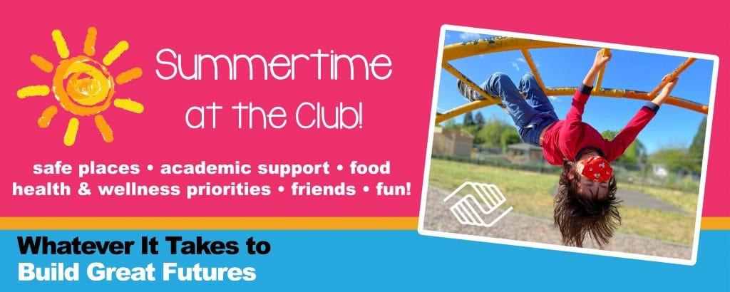 Summertime at BGCRV graphic